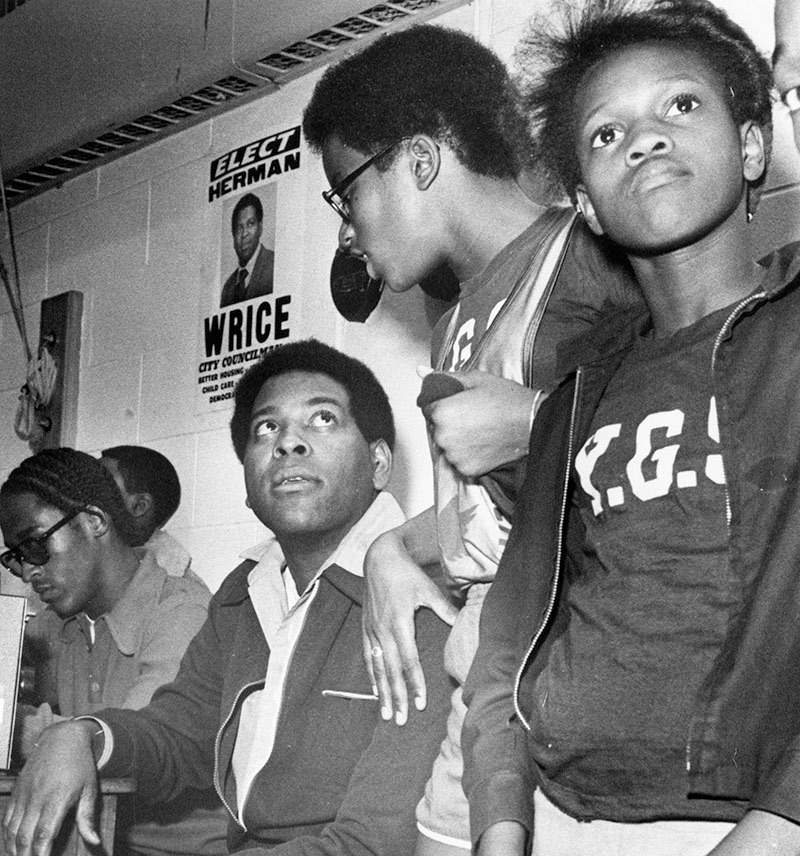 Herman Wrice and the Young Great Society