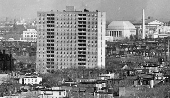 Mantua Hall's Neighborhood in 1964