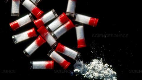 Crack vials