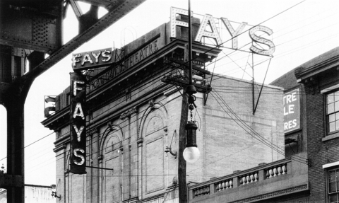 Fay's Theater Sign
