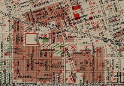 J.M. Brewer's Insurance Map of Philadelphia, 1934