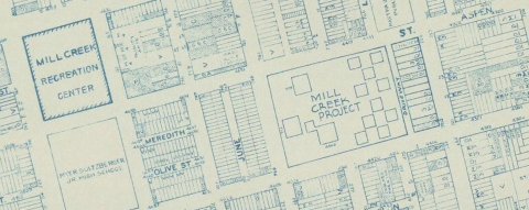 Mill Creek Homes 1962 Land Use Map