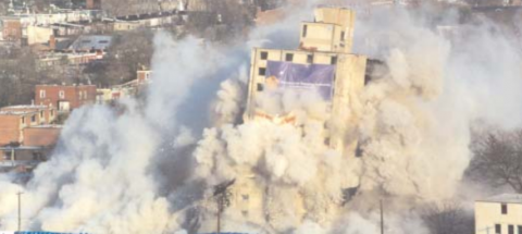 Mill Creek Homes Tower Demolition