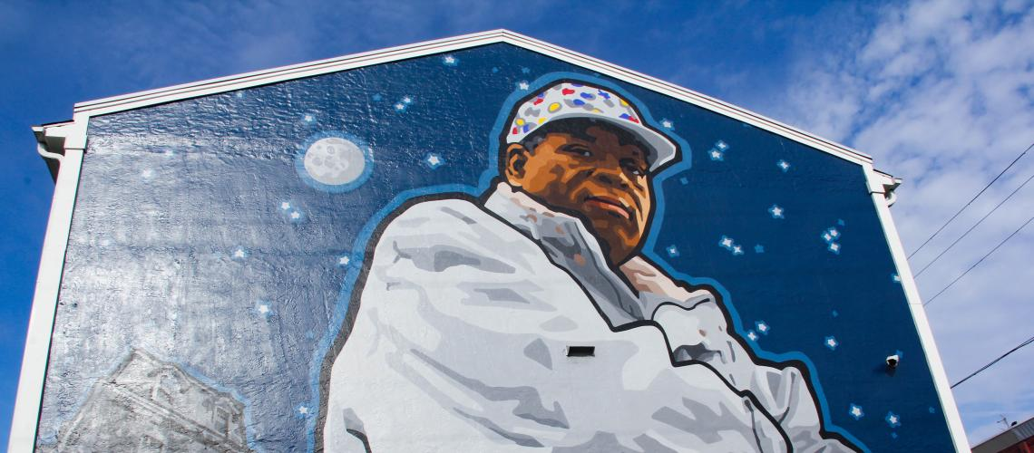 Herman Wrice Mural